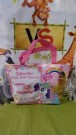 Tas Ultah Resleting Custom Little Pony Polka Dot